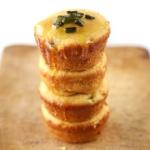Honey & Roasted Poblano Corn Muffins