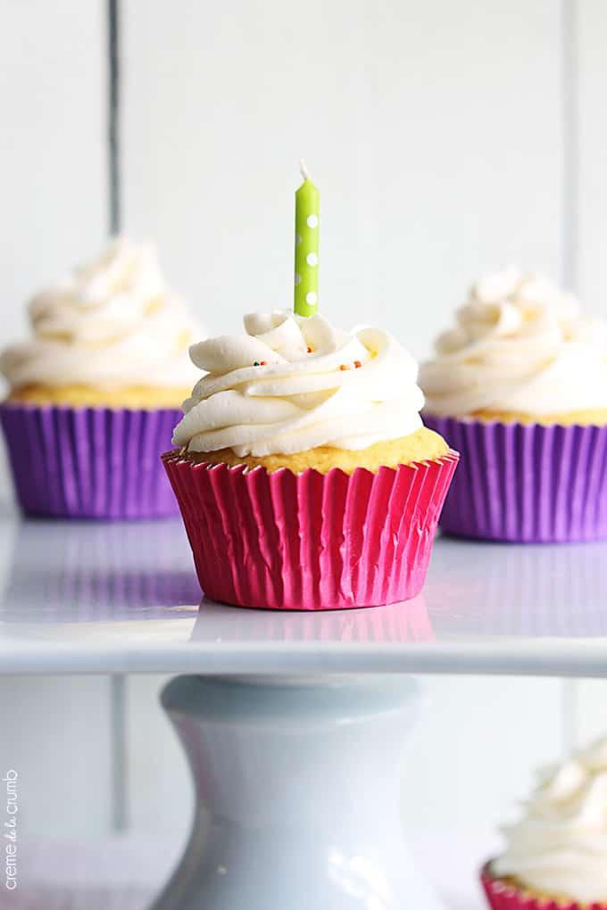 Birthday Cake Cupcakes