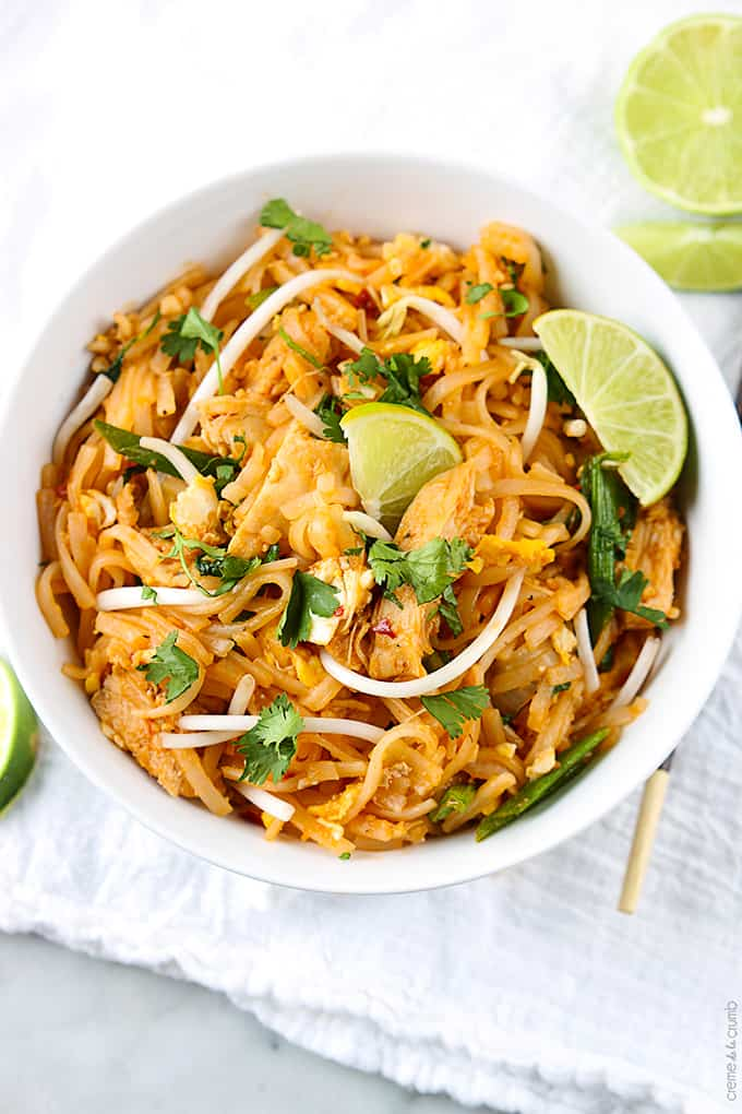 Chicken pad thai creme de la crumb chicken pad thai forumfinder Image collections