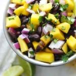 Mango Black Bean Salsa