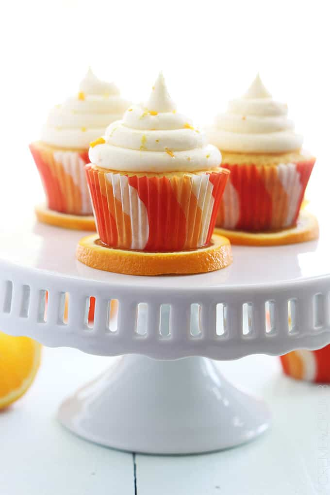 Orange Creme Cupcakes Recipes — Dishmaps