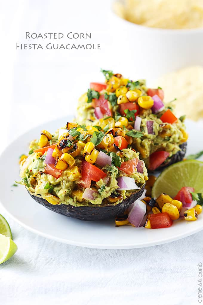 Roasted Corn Fiesta Guacamole