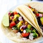 Slow Cooker Santa Fe Chicken Tacos