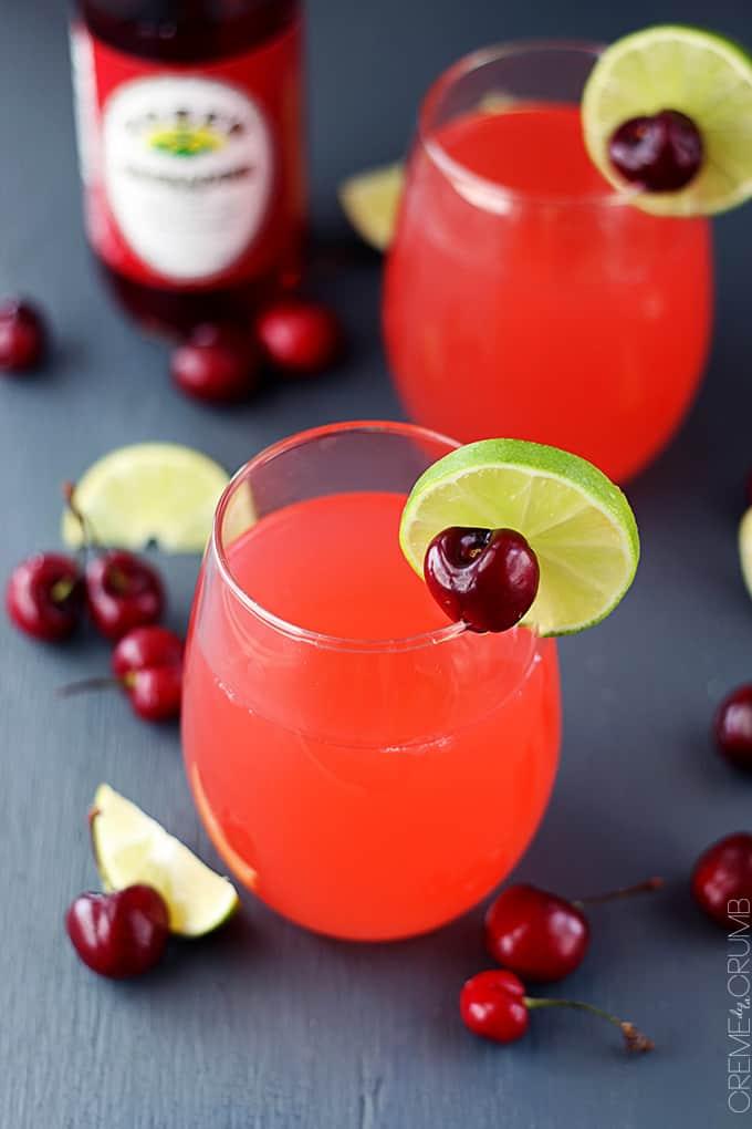 Cherry Limeade | Creme De La Crumb
