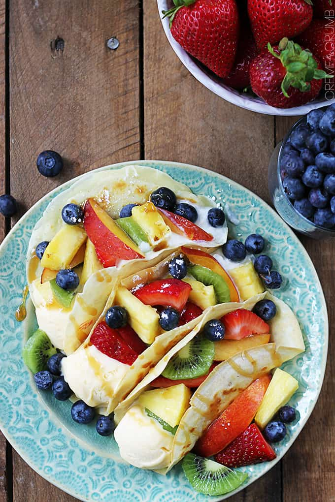 Easy Summer Dessert Tacos
