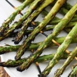 10 Minute Grilled Lemon Asparagus