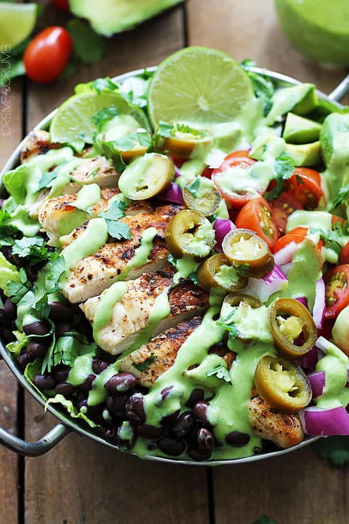 salad chicken salad with balsamic southwestern chopped salad cilantro ...