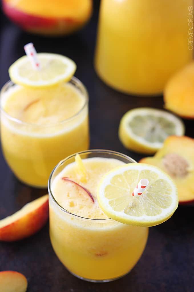 Mango Peach Lemonade