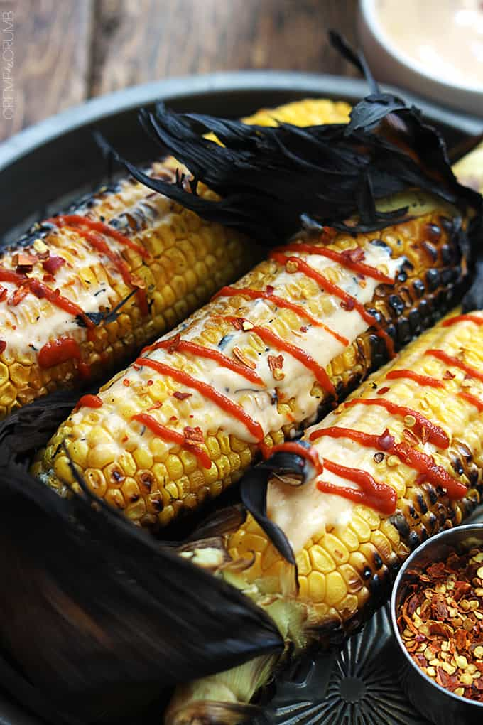 Asian Grilled Corn