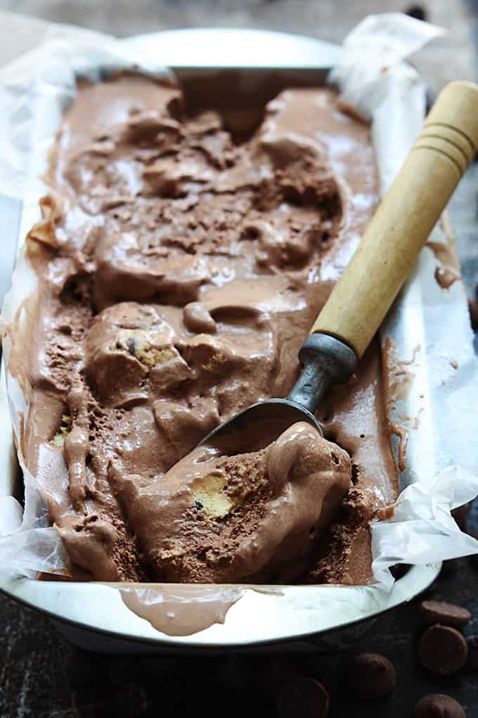Chocolate Cookie Dough Ice Cream