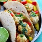 Coconut Shrimp Tacos