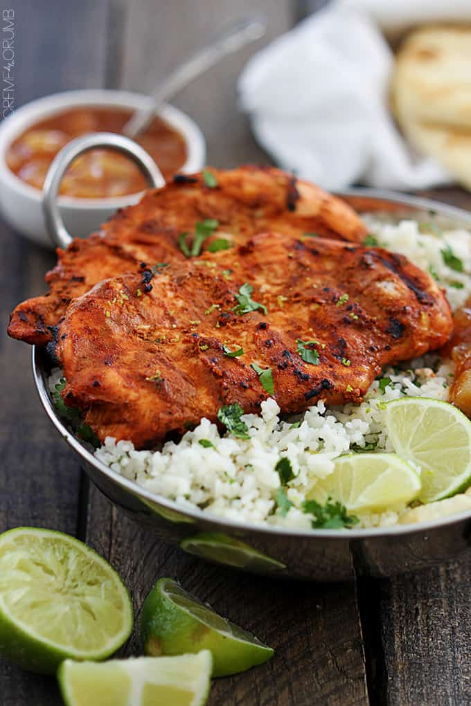 Grilled tandoori chicken creme de la crumb grilled tandoori chicken forumfinder Image collections