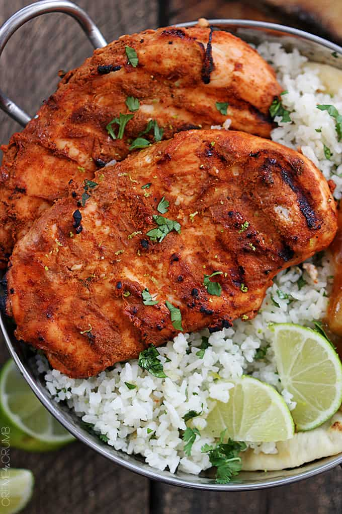 Grilled Tandoori Chicken - Creme De La Crumb