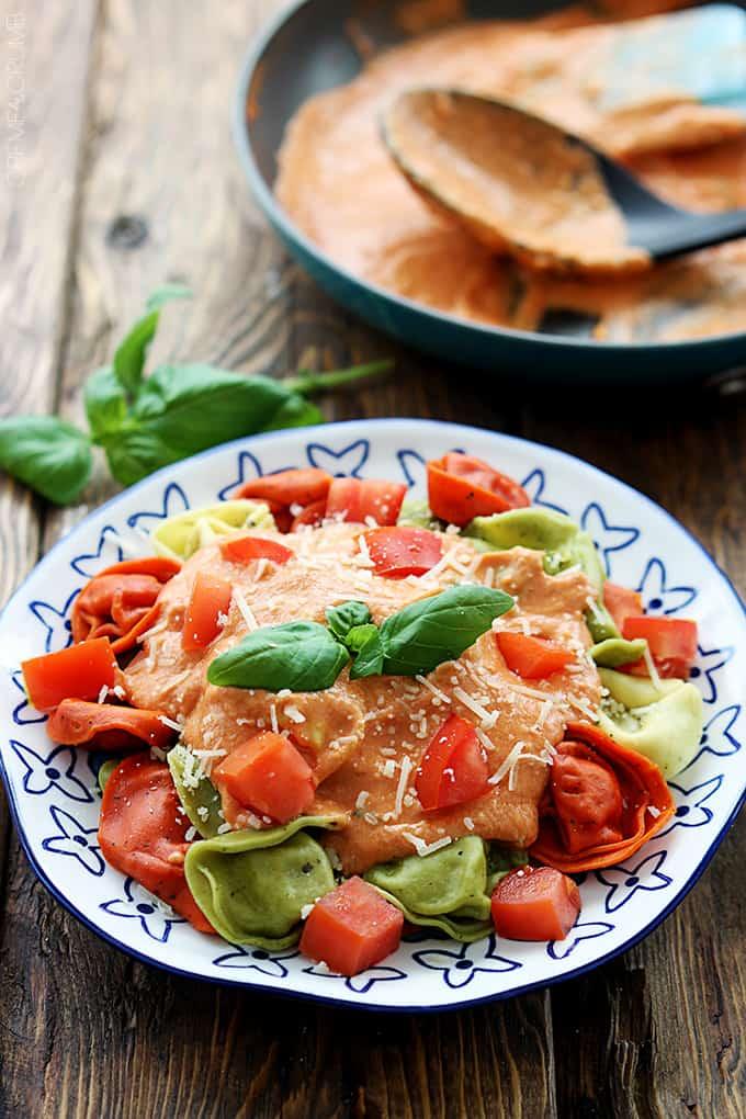 Tuscan Tomato Basil Tortellini