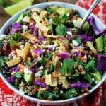 BBQ Ranch Quinoa Salad