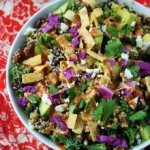BBQ Ranch Quinoa Salad