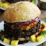 Black Bean Teriyaki Burgers
