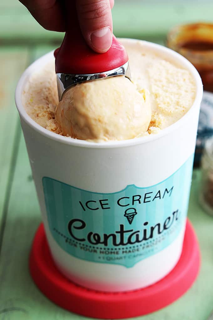 Butterscotch Ice Cream (No Churn)
