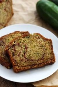 Cinnamon Swirl Zucchini Bread