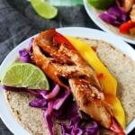 Thai Salmon Tacos