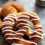 Cinnamon Sugar Pumpkin Soft Pretzels