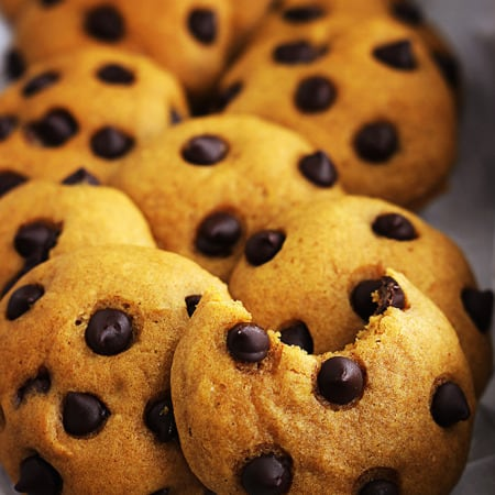 Seriously the BEST Pumpkin Chocolate Chip Cookies
