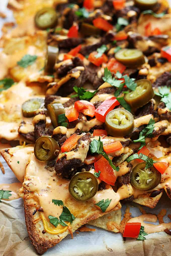 Southwest Steak n' Ranch Nachos