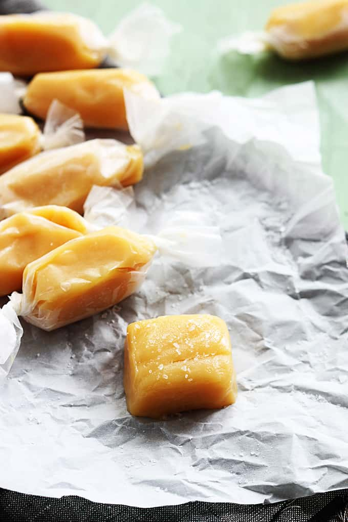Soft Caramels Recipe — Dishmaps