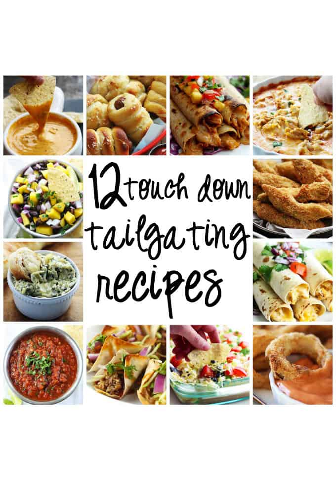 12 Touch Down Tailgating Recipes