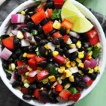 Honey Chipotle Black Bean Salad