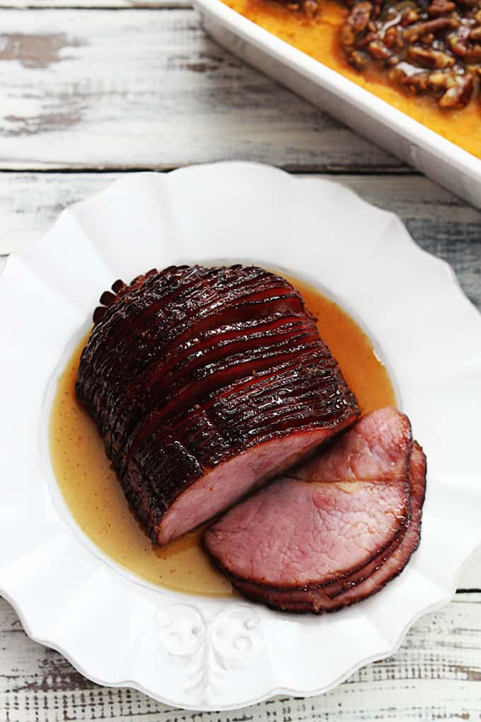 Slow Cooker Glazed Ham