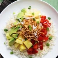 Slow Cooker Hawaiian Haystacks