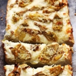 Roasted Garlic Artichoke Bread