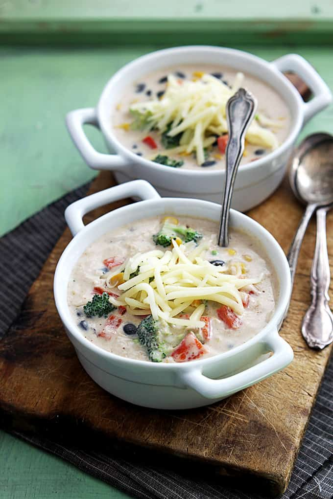 Southwest Broccoli Chowder