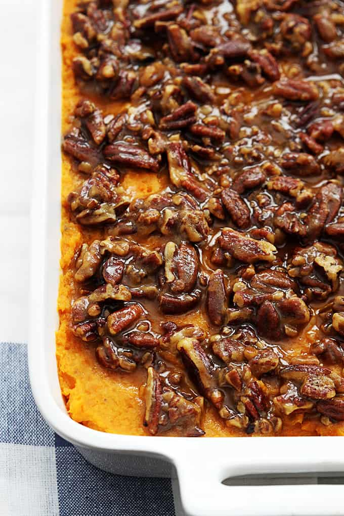 Sweet potato and pecan casserole recipes