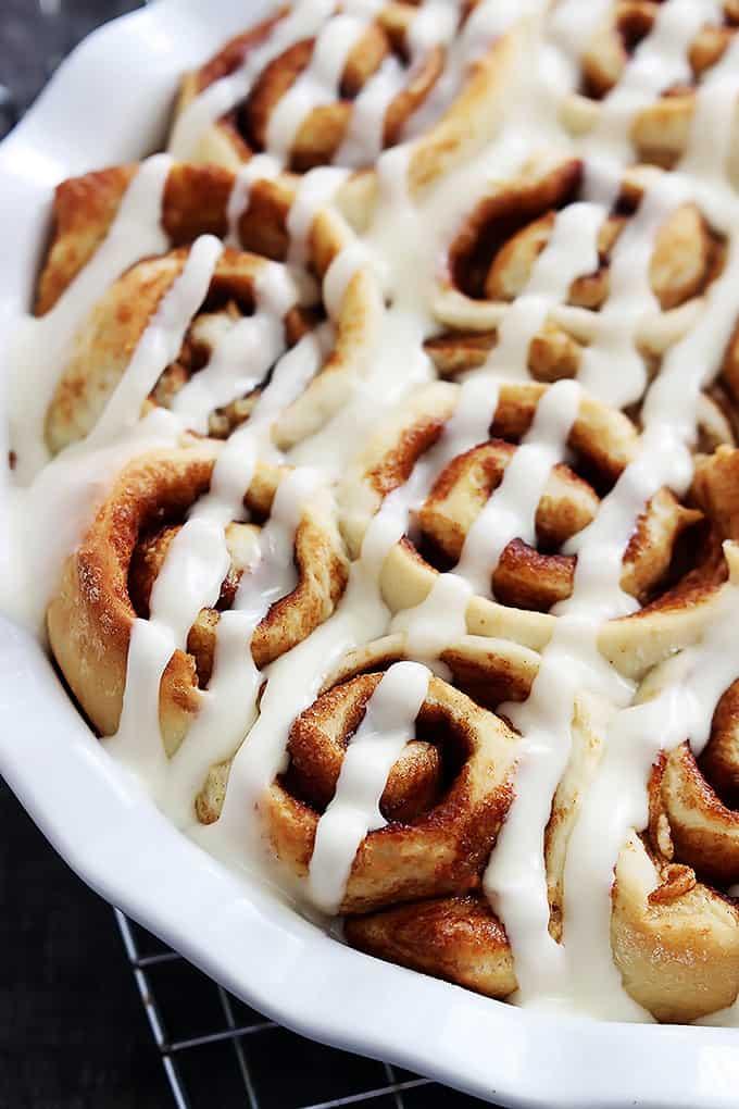 Miracle Dough Cinnamon Rolls