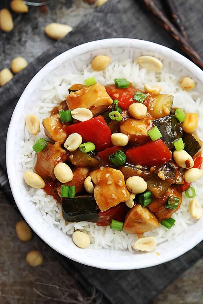 Slow Cooker Kung Pao Chicken Creme De La Crumb