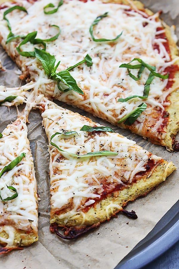 Cauliflower Crust Pizza