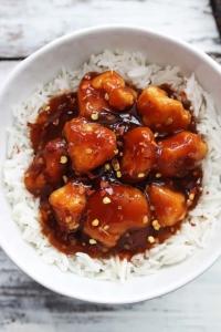Honey Sriracha Chicken