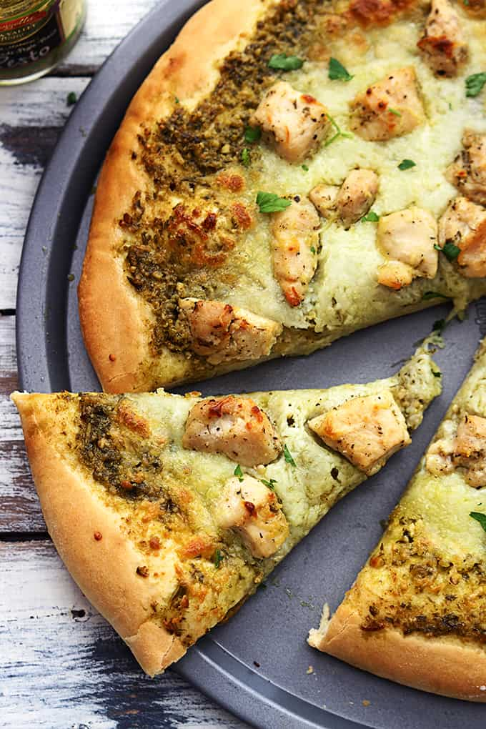 recipe: pesto pizza recipe [22]