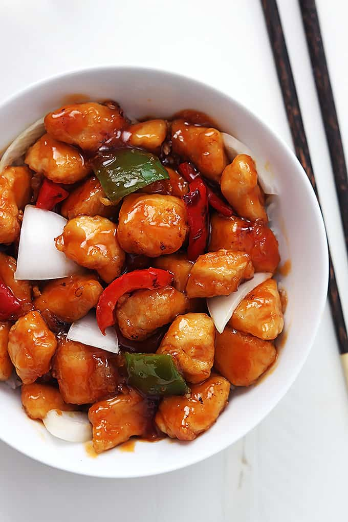 Healthy sweet and sour chicken creme de la crumb healthy sweet and sour chicken forumfinder Choice Image