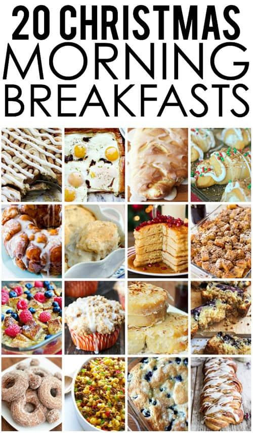 20 Christmas Morning Breakfast Ideas