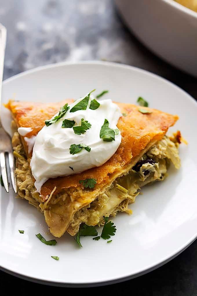 Tortilla Pie Recipe — Dishmaps