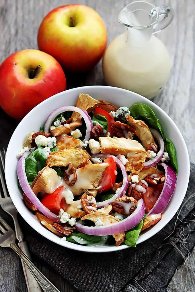 Panera bread fuji apple chicken salad dressing recipe