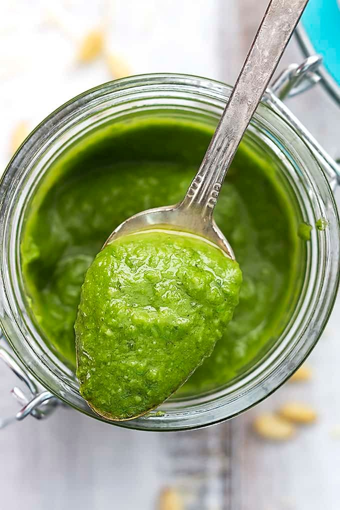 5-Minute Pesto Recipe & 15 Ways To Use It | Creme de la Crumb
