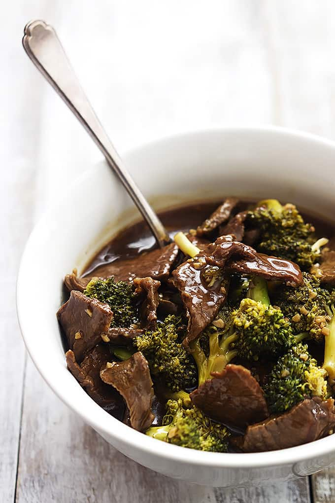 Slow Cooker Broccoli Beef ~ Slow Cooker Taste