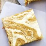Cream Cheese Swirled Carrot Cake Bars