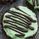 Grasshopper Sugar Cookies | Creme de la Crumb
