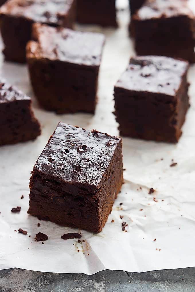 Slow Cooker Brownies | Creme de la Crumb