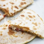 Slow Cooker Chicken Quesadillas